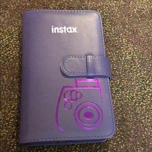Instax Instant Camera Picture Album Holder Purple